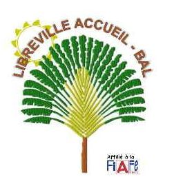 Logo de l'association Libreville Accueil-BAL. - JPEG